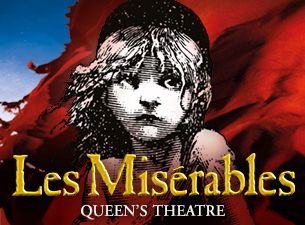 Les Miserables (Matinee): Wednesday 3rd April.