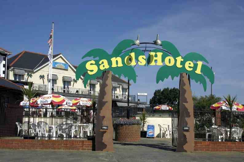 The Sands hotel Sandown Isle of Wight: Friday 3rd – Thursday 9th April 2020.