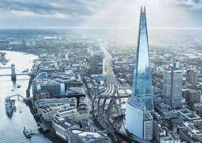 View from the Shard and two course lunch: Sunday 20th September (Cancelled).