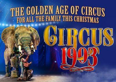 Circus 1903 (Matinee) Monday 27th December.