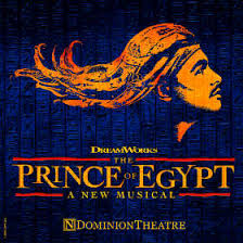 The Prince of Egypt: Thursday 19th March.