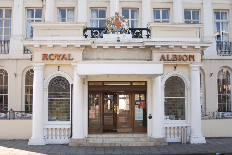 The Royal Albion Hotel Brighton: Monday 9th – Friday 13th March.