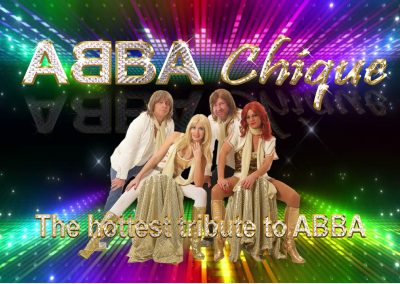Voulez Vous Aha with ABBA Chique: Wednesday 10th November (revised date)