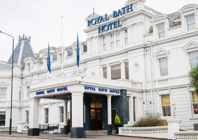 Royal Bath Hotel Bournemouth: Monday 12th – Friday 16th July (sold out)