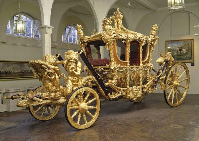 Buckingham Palace State Rooms & Royal Mews: Sunday 2nd August.