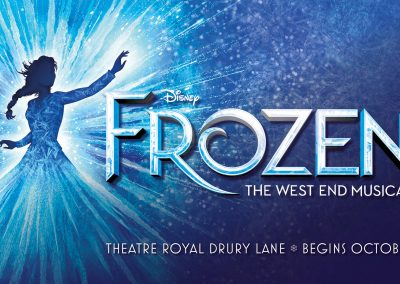 Frozen The Musical (Matinee) Thursday 27th January 2022 (Revised date)