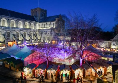 Winchester Cathedral's Christmas Market: