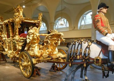 Buckingham Palace & Royal Mews: Sunday 1st August.