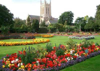 Bury St Edmunds Abbey Gardens & Street Market 7th July