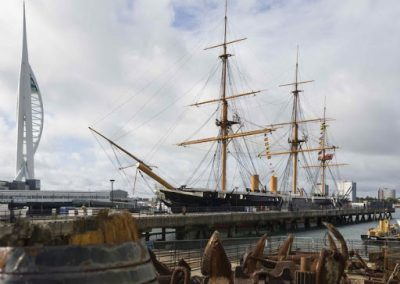 Portsmouth Royal Maritime Hotel & Guide Tours: 13th –  15th September.