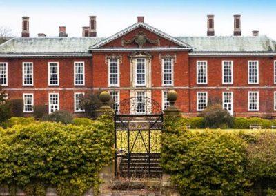Bosworth Hall Hotel:  Monday 20th – Friday 24th September