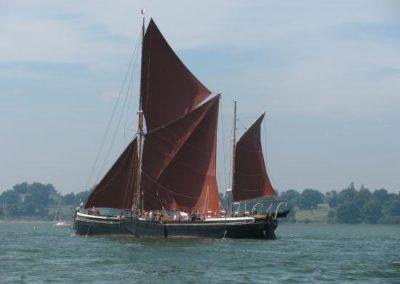 Maldon & Thames Sailing Barge Cruise: Sunday 29th August