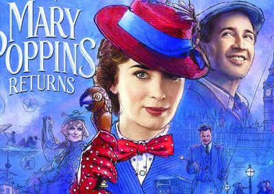 Mary Poppins (evening): Wednesday 20th October.