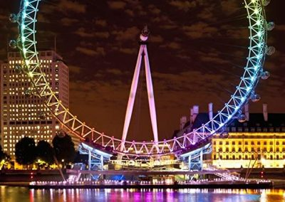 Cruising in to Christmas with London Eye night flight: Sunday 28th November or Tuesday 14th December.