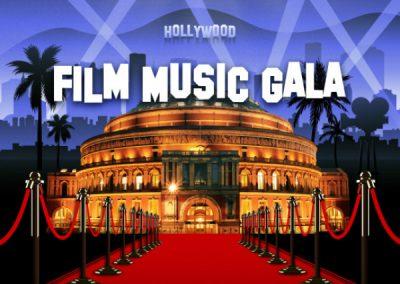 Royal Albert Hall Film Music Gala: Saturday 2nd April.