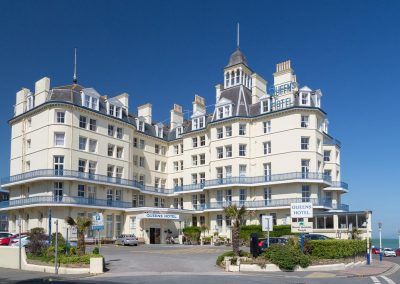 Queens Hotel Eastbourne: Monday 28th February – Friday 4th March 2022